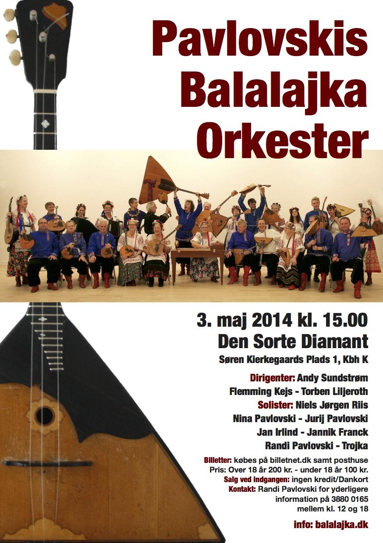 Koncert 3. maj 2014
